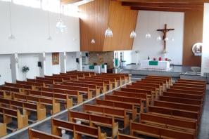Interior da Paróquia Sagrada Família – Cidade